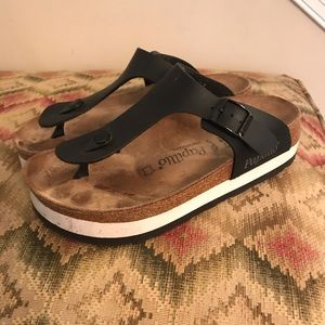 Birkenstock papillo Gizeh platform sandal